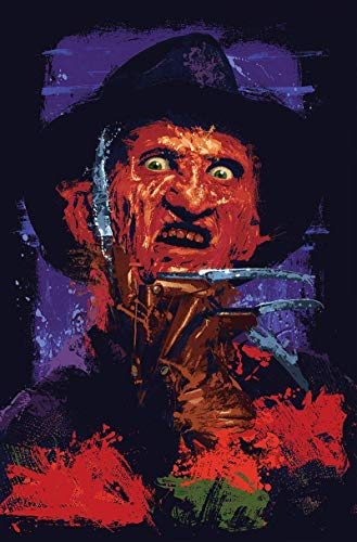 Freddy Krueger Nightmare on Elm Street  17 x 11 high quality poster