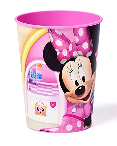 Minnie Mouse Bowtique 16 oz Plastic Party Cup, Party Supplies