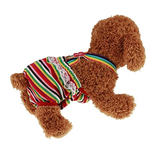 Sumen New Dog Pants Knickers Nappy Puppy Pet Heat Menstruation Diaper Sanitary Pant - Dl Eyewear