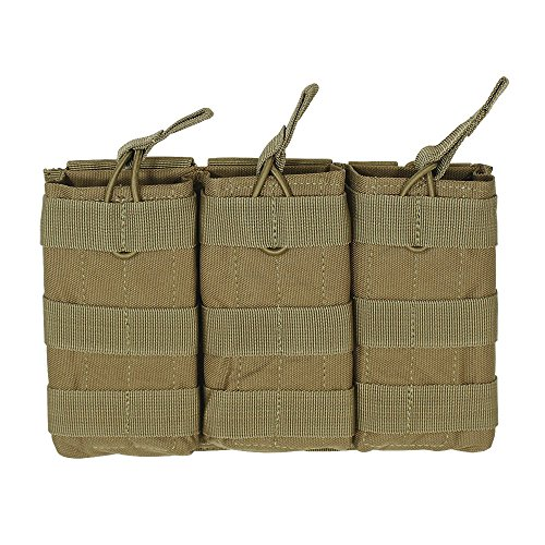 VooDoo Tactical Men's M4/M16 Open Top Mag Pouch with Bungee System, ()