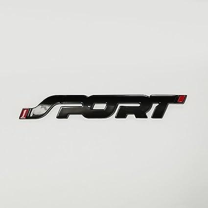 Ford Sport Emblem Matte Black Fits Explorer Edge Fusion F  Escape Focus