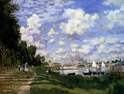 The Marina at Argenteuil by Claude Monet - 16
