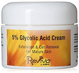 Reviva Labs 5% Glycolic Acid Cream, 1.5 Ounces