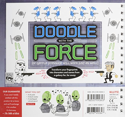 Review Klutz Star Wars Thumb Doodles Book Kit