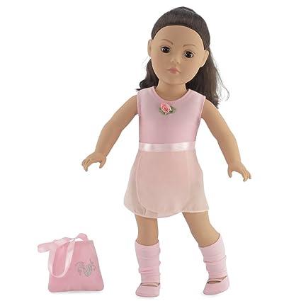 18 Inch Doll Champion Ballet Skater 81OFb6