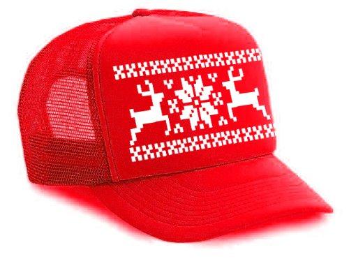 Ugly Christmas Sweater Hats