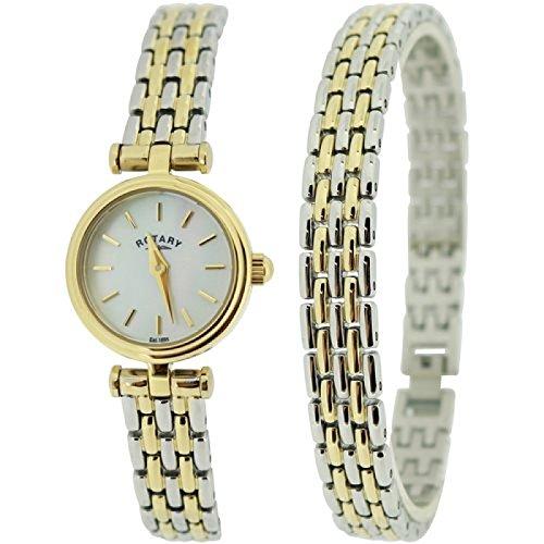 Rotary LB00173-BR-40 Ladies Silver Steel Bracelet Watch