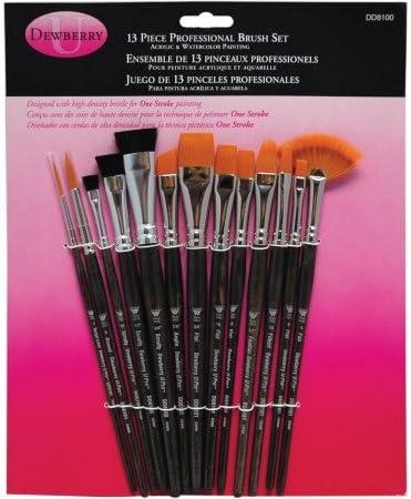 One Stroke Brush Set-3//Pkg