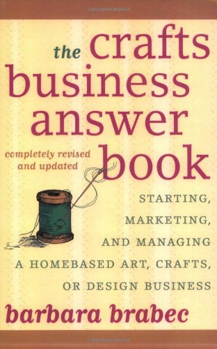 Crafts Business Answer Book Marketing product image