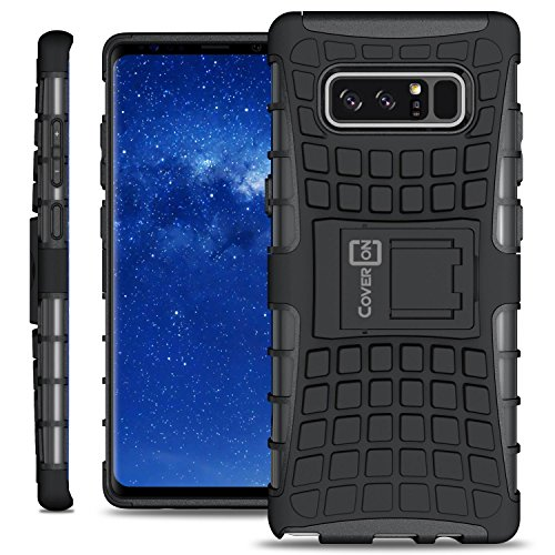 CoverON Atomic Series Galaxy Note 8 Case Protective Hybrid Phone Cover with Kickstand