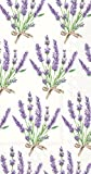 Celebrate the Home Floral 3-Ply Paper Guest Towels/Banquet Napkins, Bouquet of Lavender, 16-Count