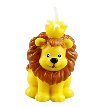 Animal Lion Birthday Candle Unique King Shape Cake Candles