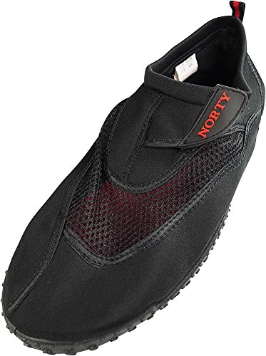 NORTY Mens Big Aqua Water Shoe, Black 39450-14D(M) US from NORTY