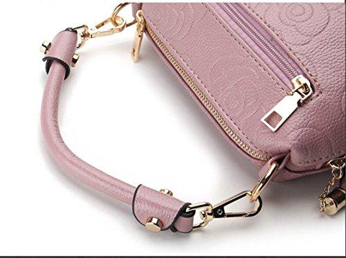 Meaeo De Moda Dama Impresión Bolso Spring Nuevos rosa Clásico Hot Pink 5rPO5wWq
