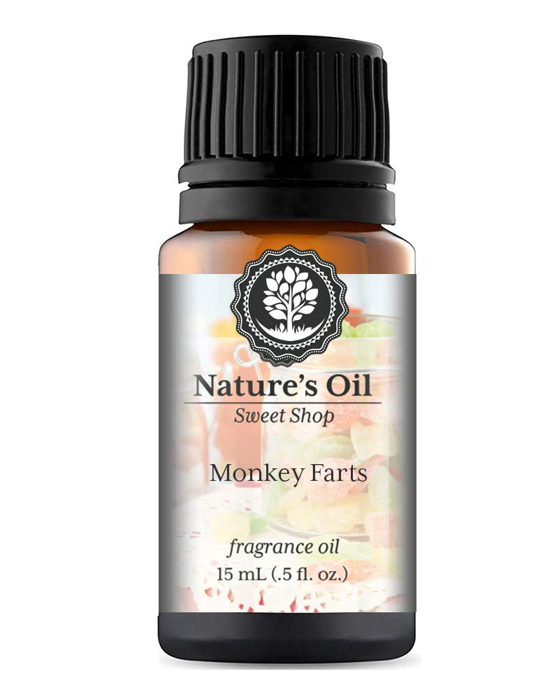 Monkey Farts Fragrance Oil (15ml) For Diffusers, Soap Making, Candles, Lotion, Home Scents, Linen Spray, Bath Bombs, Slime