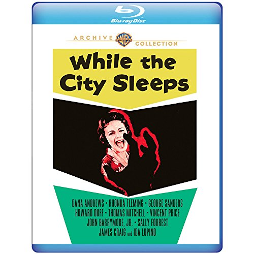While the City Sleeps (1956) [Blu-ray]