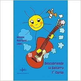 SIBEMOL - DESCUBRIENDO LA GUITARRA 1º CURSO: Amazon.es: RODRIGUEZ ...
