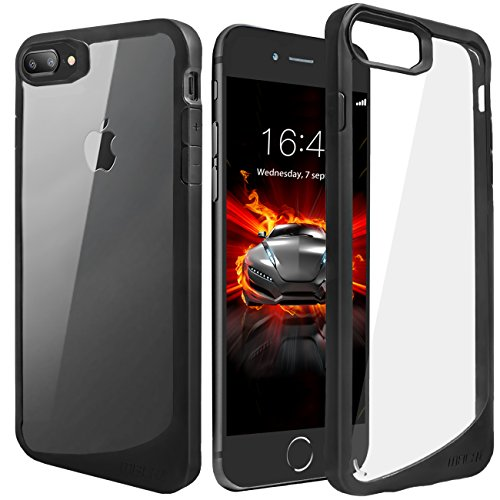 MBLAI Compatible with iPhone 8 Plus Case,iPhone 7 Plus Case, Clear Anti-Scratch Shock Absorption Cover Case Apple iPhone 7 Plus/iPhone 8 Plus