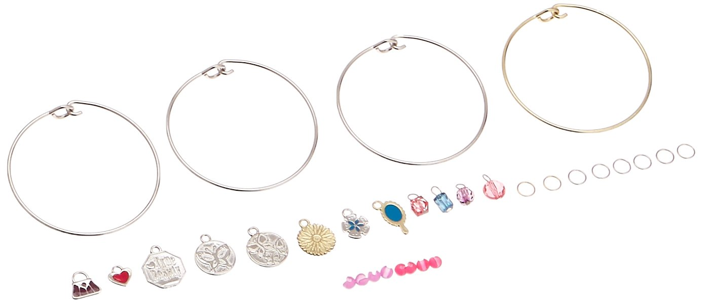 Friendship Free Spirit Cra Z Art 17146 Cra-Z-Art Shimmer and Sparkle Trendy Charm Bracelets Music