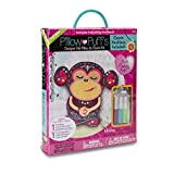 Best Darice Gift For 10 Year Olds - Darice PUF-133 Pillow Kits, Big, Monkey Design Review