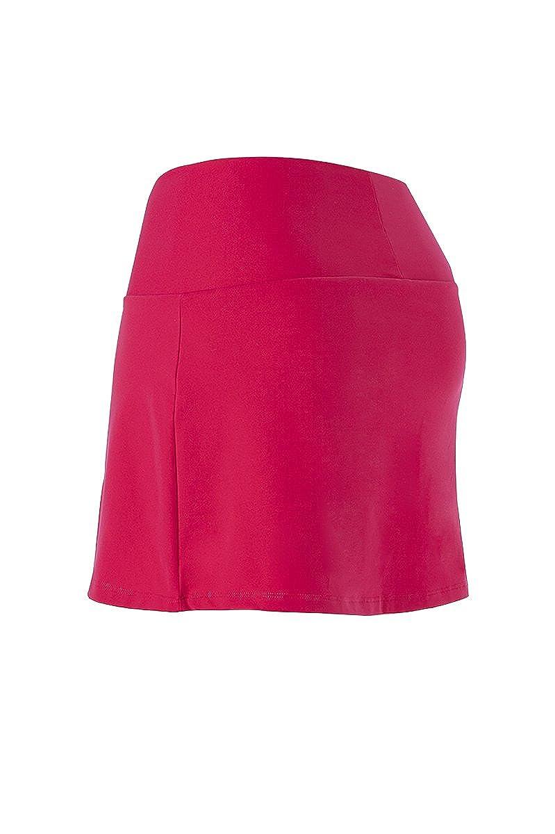 Naffta Tenis Padel - Falda-pantalón para mujer, color borgoña/negro, talla M: Amazon.es: Zapatos y complementos