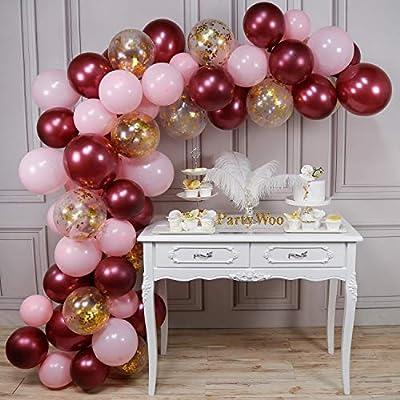 Amazon.com: LAttLiv globos de látex para fiestas, globos y ...
