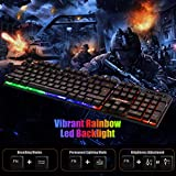 FLAGPOWER Gaming Keyboard and Mouse