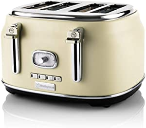 Westinghouse Retro 4 Slice Toaster (White)