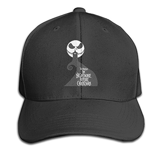 Karoda JACK's Nightmare Adjustable Baseball Cap/Hat Hip Hop Hat Black -