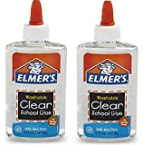 Elmer's Washable School Glue, liquide, claire, 2Pack (5 oz)