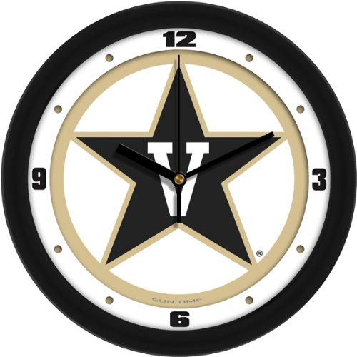Vanderbilt Commodores Wall - SunTime NCAA Vanderbilt Commodores Traditional Wall Clock
