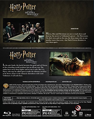 Buy harry potter deathly hallows part 1 blue ray BEST VALUE, Top Picks Updated + BONUS