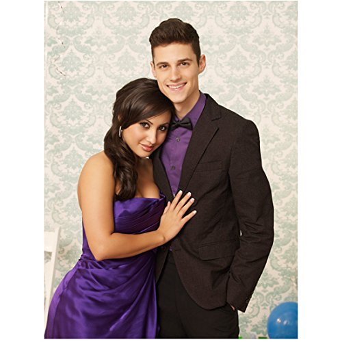 Ken Baumann 8 Inch x 10 Inch Photograph The Secret Life of the American Teenager ITV Series 2008 - 2013) Arm Around Francia Raisa kn (Secret Life Of The American Teenager Actors)