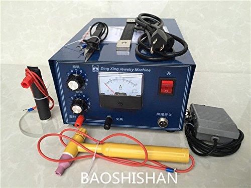 BAOSHISHAN 110V/220V DX50A 400W 専用交流アークス溶接機 ポット溶接機 ハンドヘルドパルス 金銀プラチナ溶接マシン リングウェルダー 超強力型 ジュエリーツール 卓上 DIY道具 加工機 (220V) B07BMR5LW1 220V