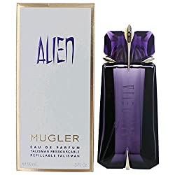 Alien by Thierry Mugler Eau De Parfum Spray Refillable Talisman 3.0 ounce