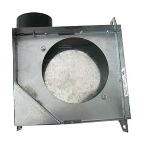 Seguridad colorfulbagsuk instrumentos BF-504Ba 10,16 cm carcasa para ventilador baño 50-CFM, 6 unidades