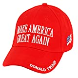 Donald Trump Make America Great Again Hats Embroidered - Red