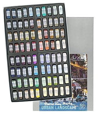 Nancie King Mertz Urban Asst. of 80 Richeson Handrolled Pastels