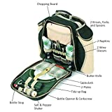 Greenfield Collection Deluxe Picnic Backpack Hamper