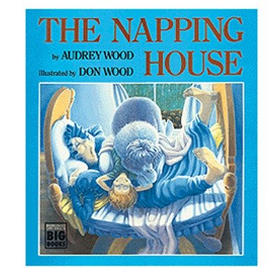 The Napping House Hardcover Children's Book ConstructivePlaythings