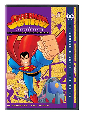 DVD : Superman: The Animated Series, Vol. 3 (Amaray Case, 2 Pack, Repackaged, 2PC)