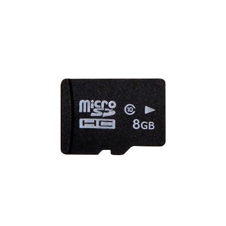 Yan Marca Nuevo 8 GB Micro SD SDHC TF Tarjeta de Memoria 8 G ...