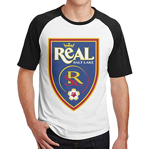 Real Salt Lake Jeff Cassar Raglan Jersey Shirt Short Sleeve Vintage Tee