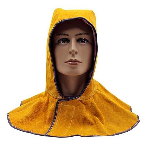 LAIABOR Casco De Soldadura Ajustable Sombrero De Chal A Prueba De Polvo Gorro De Trabajo De