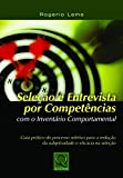 capa de Seleção e Entrevista por Competência com o Inventário Comportamental
