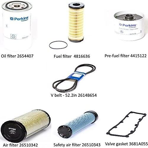 Service Kit For Perkins 1104A-44TG2 T402382