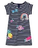 Gymboree Big Girls' Short Sleeve Stripe Dress Patches, Multi, 7 offers