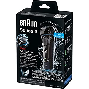 Braun Series 5 5040S Men's Electric Razor / Electric Foil Shaver, Wet & Dry, Cordless & Rechargeable, Pop Up Precision Trimmer