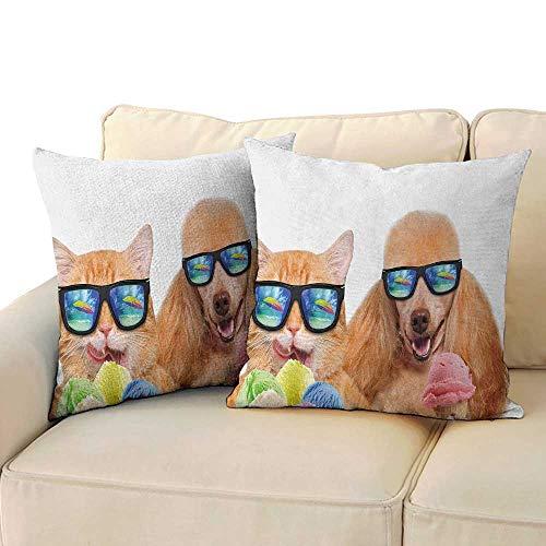 RenteriaDecor Animal,Pillowcases Set 24