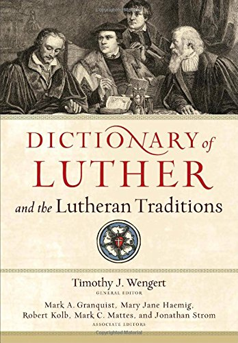 Image of Dictionary of Luther and the Lutheran Traditions